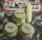 Knob Set for Fender Strat Mint Green  PK-0178-024